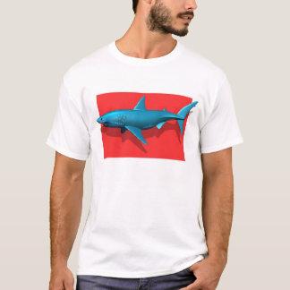 Camiseta Grande tubarão branco