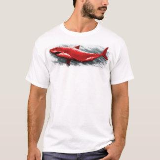 Camiseta Grande tubarão vermelho