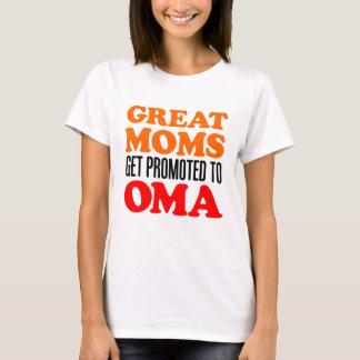 Camiseta Grandes mães promovidas a Oma