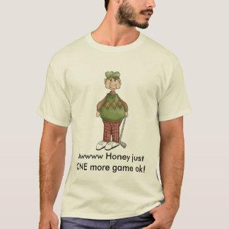Camiseta grandpa_golfing, justONE do mel de Awwww mais