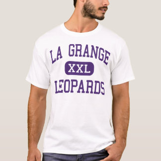 Camiseta Granja do La - leopardos - alta - granja Texas do