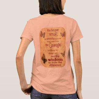 Camiseta Grant mim serenidade - oração da serenidade - o T