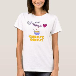 Camiseta Grãos do sul do queijo do amor das meninas