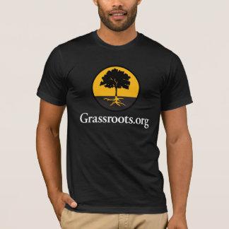 Camiseta Grassroots.org dos homens