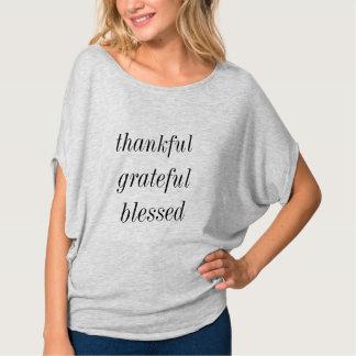 Camiseta grato grato abençoado