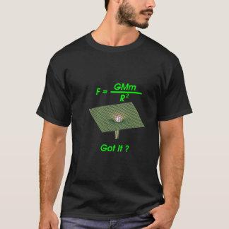 Camiseta Gravidade