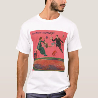 Camiseta Gravitação suspendida
