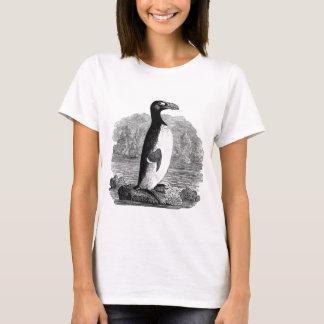 Camiseta Gravura de madeira de grande Auk