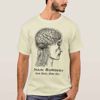 Camiseta Gravura médica da antiguidade do sobrevivente da