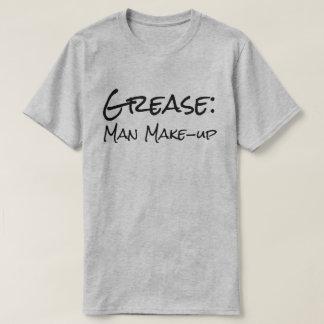 """Camiseta """"Graxa engraçada: Composição do homem """""""