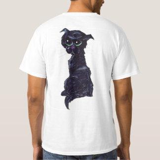 Camiseta #GreenEyes nomeados #Kitty de um #BlackCat do #jWe