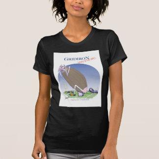 Camiseta Grelha - retrocedida dentro a grama, fernandes