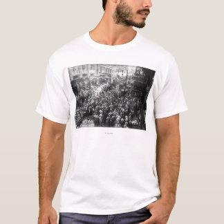 Camiseta Greve dos atores na 45th rua em New York