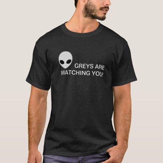 Camiseta Greys are watching you!