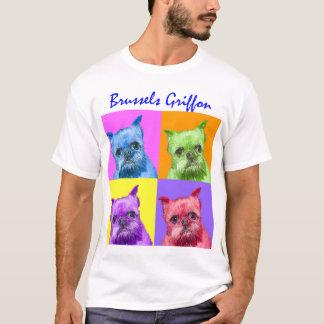 Camiseta Griffon de muitas cores