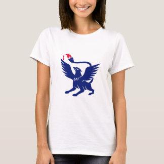 Camiseta Grifo com ícone da cauda do pincel