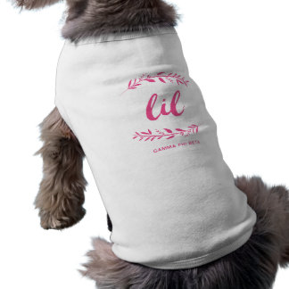 Camiseta Grinalda de Lil da phi da gama beta