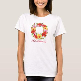 Camiseta Grinalda de Mele Kalikimaka