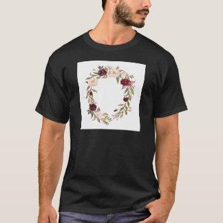 Camiseta Grinaldas da flor de NJCO