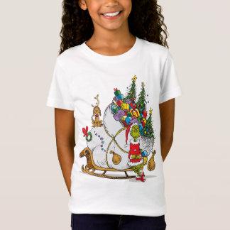Camiseta Grinch clássico | o Grinch & máximo com trenó