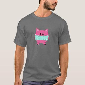 Camiseta Gripe não 4 U dos suínos