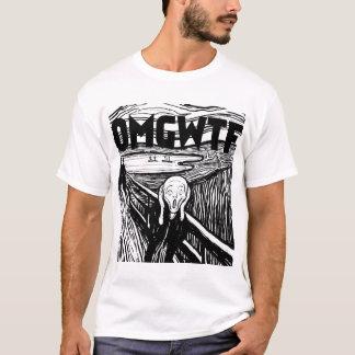 Camiseta Gritar b/w de OMGWTF