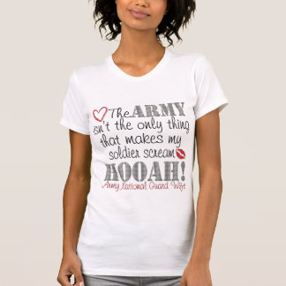 Camiseta Gritar da guarda nacional HOOAH