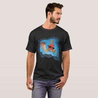 Camiseta gritar dos sem-fins