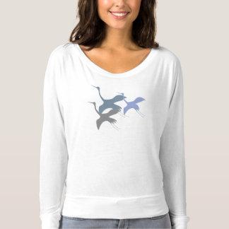 Camiseta Gritar - guindaste de Sandhill
