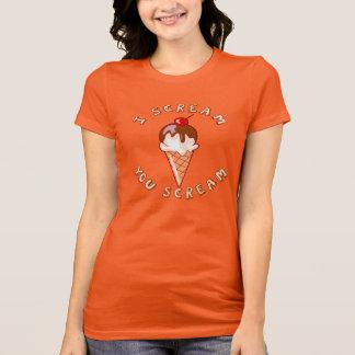 Camiseta Gritar para o sorvete