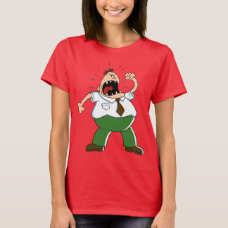 Camiseta Gritar principal do capitão Cuecas | Krupp