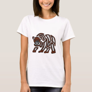 Camiseta grizzley da costa oeste