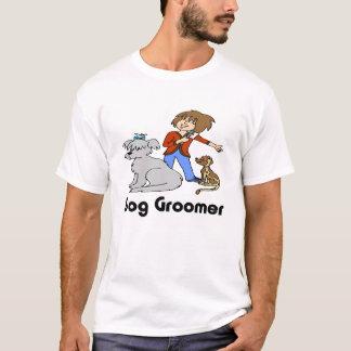 Camiseta Groomer do cão