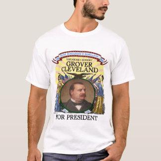 Camiseta Grover Cleveland 1884 homens do Tshirt da campanha