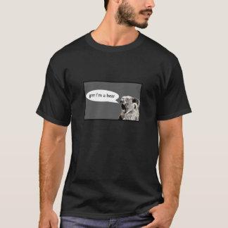Camiseta Grrr eu sou um urso