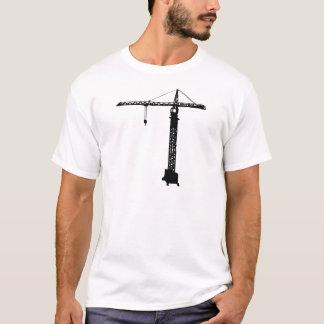 Camiseta grue do guindaste de torre