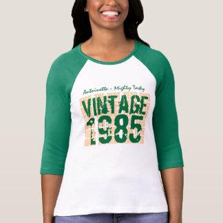 Camiseta Grunge 1985 do vintage do presente de aniversário