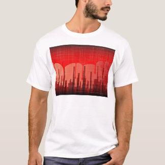 Camiseta Grunge da cidade do sangue