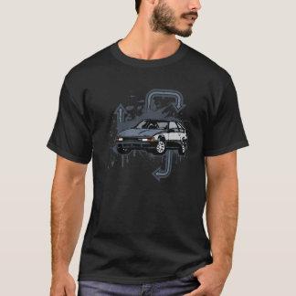 Camiseta Grunge de dois tons