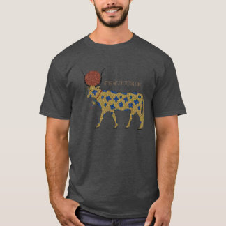 Camiseta Grunge de Kemetic: Hethert-Porca, a vaca celestial