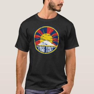 Camiseta Grunge redondo livre de Tibet
