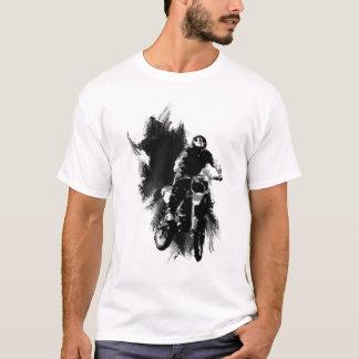 Camiseta Grunge transversal do motor