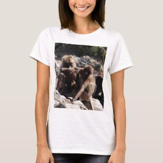 Camiseta Grupo de babuínos do gelada (gelada de