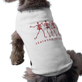 Camiseta Grupo de esqueleto que dança os esqueletos