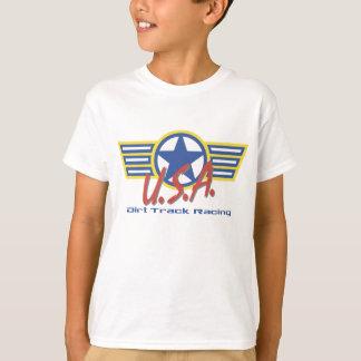 Camiseta Grupo de poço da trilha de sujeira dos EUA