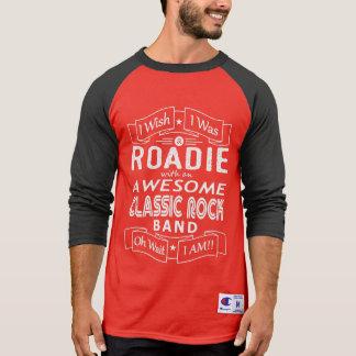 Camiseta Grupo de rock clássico impressionante de ROADIE
