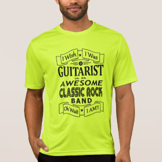 Camiseta Grupo de rock clássico impressionante do