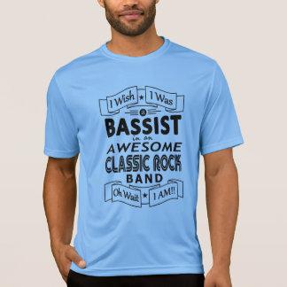 Camiseta Grupo de rock clássico impressionante do BAIXISTA