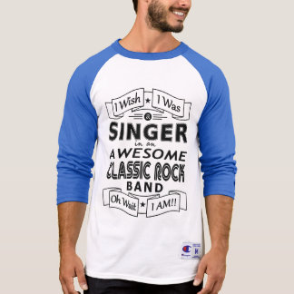 Camiseta Grupo de rock clássico impressionante do CANTOR