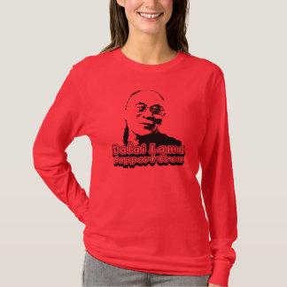 Camiseta Grupo do apoio de Dalai Lama - vermelho da